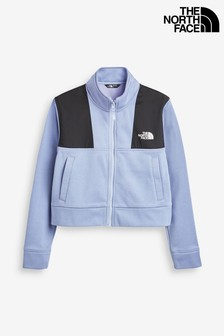 The North Face® Girls Surgent Cropped Full Zip Top