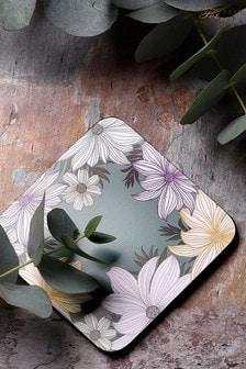 Set of 6 Pimpernel Atrium Geo & Floral Coasters