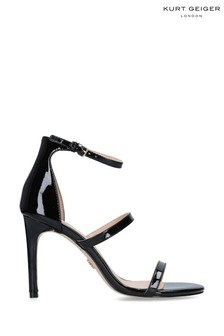 Kurt Geiger Ladies Black Patent Heels