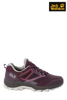 Jack Wolfskin Red Down Hill Walking Shoes