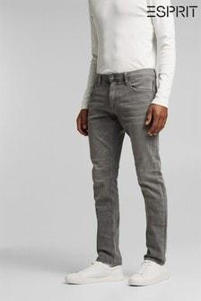 Esprit Grey Regular Denim Pants