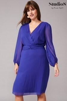 Studio 8 Blue Felicity Twist Dress