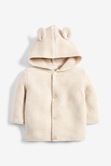 Hooded Ear Cardigan (0mths-3yrs)