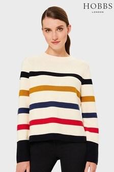 Hobbs Multi Fisola Stripe Sweater