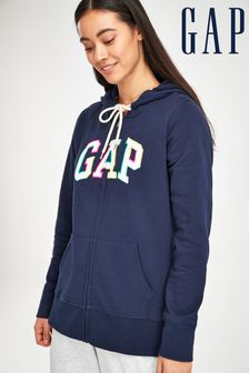 Gap Navy Full Zip Hoody