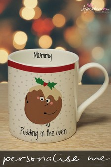 Personalised Pudding In The Oven Mug by Signature PG