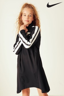 Nike Air Black Long Sleeve Dress