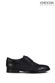 Geox Men's Rezzonico Navy Shoes