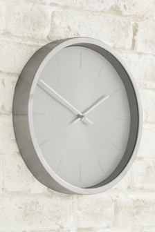 Metallic Wall Clock