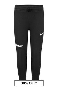 Nike Boys Black Fleece Joggers
