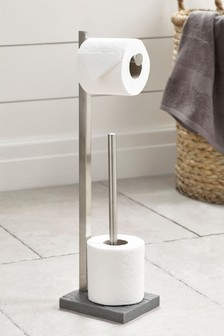 Milana Stand And Store Toilet Roll Holder