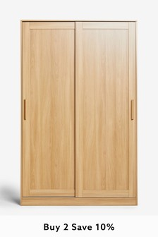 Flynn Oak Sliding Robe