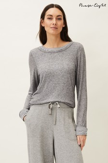 Phase Eight Grey Sheena Double Layer Top