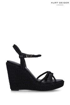 Kurt Geiger London Neile Black Sandals