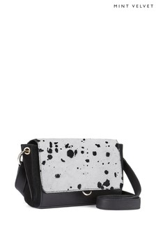 Mint Velvet Tia Multiway Dalmatian Bag