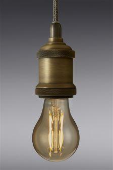 4W BC LED Retro GLS Bulb