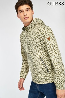 Guess Khaki Reversible Jacket