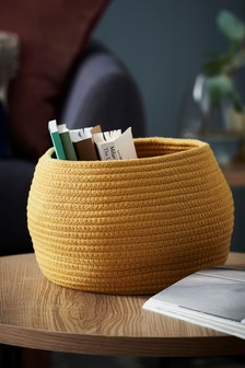 Ochre Storage Basket