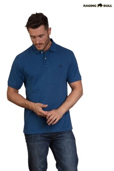 Raging Bull Denim Blue New Signature Polo