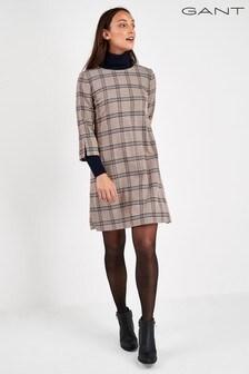 GANT Washable Wool A-Line Dress