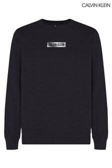 Calvin Klein Black Branded Sweatshirt