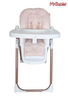 Samantha Faiers Rose Gold Blush Tropical Premium Highchair by My Babiie