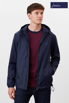 Joules Blue Arlow Lightweight Waterproof Jacket