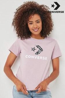 Converse Star Chevron Flower T-Shirt