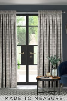 Clio Fog Grey Made To Measure Curtains