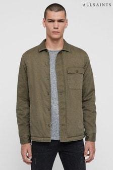 AllSaints Khaki Deck Overshirt