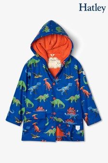 Hatley Blue Friendly Dinos Raincoat