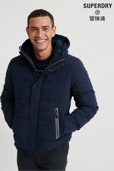 Superdry Navy Padded Jacket