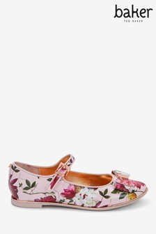 baker by Ted Baker Citrus Bloom Bow Mary Jane Shoes