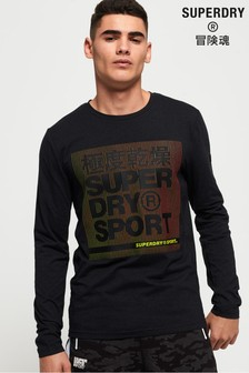 Superdry Core Graphic Long Sleeve T-Shirt