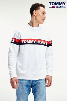 Tommy Hilfiger Double Stripe Logo Sweatshirt