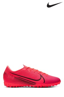 Nike Red Mercurial Vapor 13 Academy Turf Football Boots