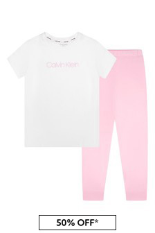 Calvin Klein Underwear Pink Cotton Pyjamas