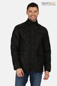 Regatta Black Locke Quilted Jacket