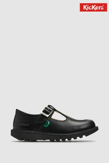 Kickers Kick T Leather Shoes