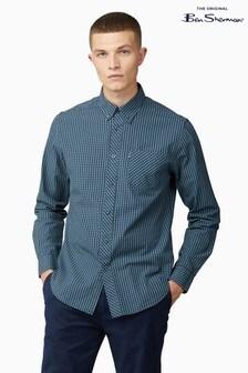 Ben Sherman Sea Long Sleeve Signature Gingham Shirt