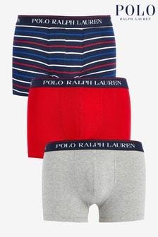 Polo Ralph Lauren Multi Logo Trunks Three Pack