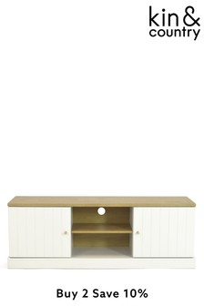 Kin And Country Burford Wide TV Unit