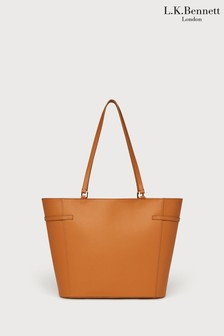 L.K.Bennett Liberty Tan Tote Bag