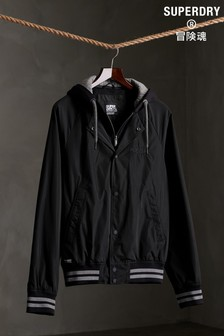 Superdry Hooded Varsity Bomber Jacket