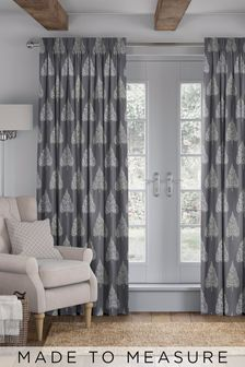 Coco Steel Grey Made To Measure Curtains