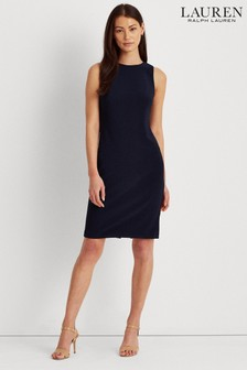 Lauren Ralph Lauren® Navy Stretch Darian Dress