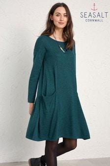 Seasalt Green Coast Land Heartfelt Dress