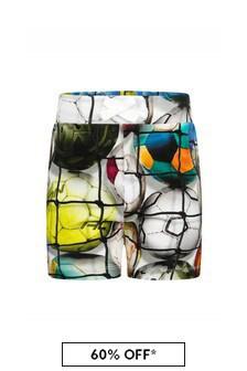 Molo Baby Boys Multicoloured Cotton Shorts