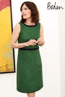 Boden Green Carrie Tweed Dress