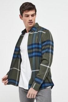 Oversize Check Shirt